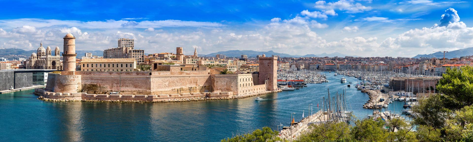 Photo du vieux-port de Marseille